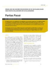 thumbnail of Paritas Passe
