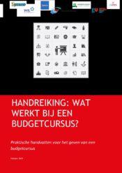 thumbnail of Effectieve budgetcursus handreiking nov 2019