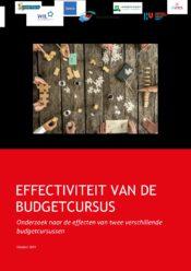 thumbnail of Effectieve budgetcursus onderzoeksrapport nov 2019