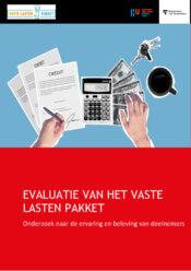 thumbnail of Rapport Evaluatie Vaste Lasten Pakket
